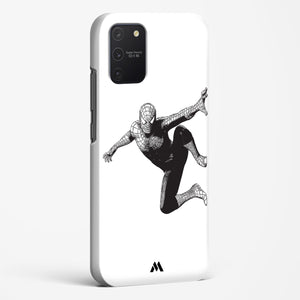 Wireframed Spiderman Hard Case Phone Cover