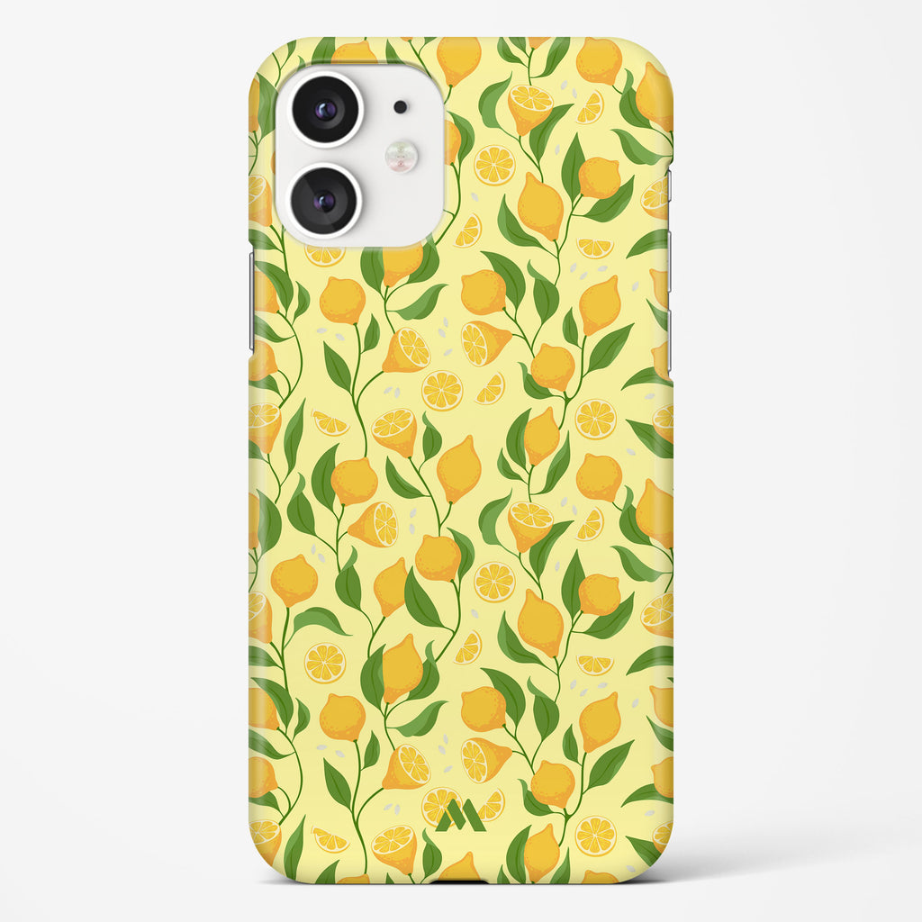 Lemons Sliced on the Stalk Hard Case Phone Cover