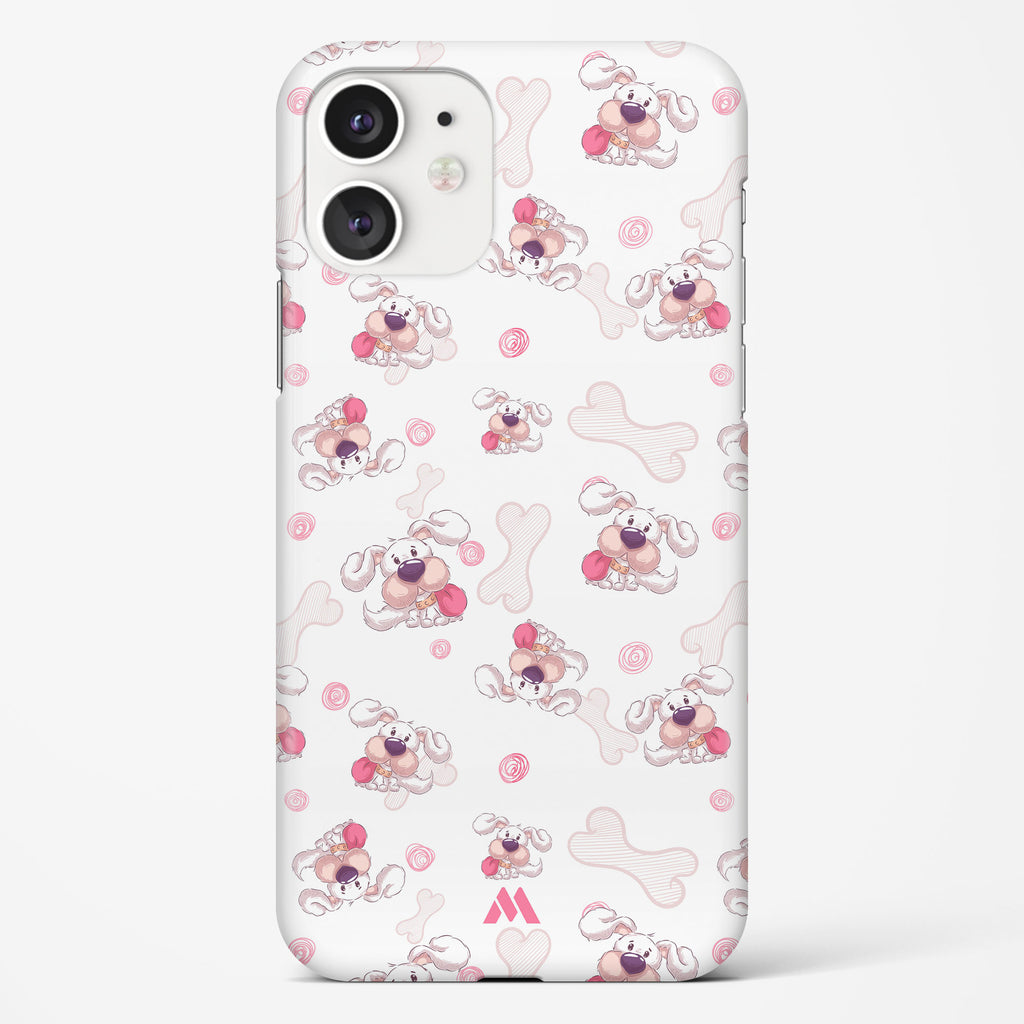 Cute Little Doggies Hard Case Phone Cover