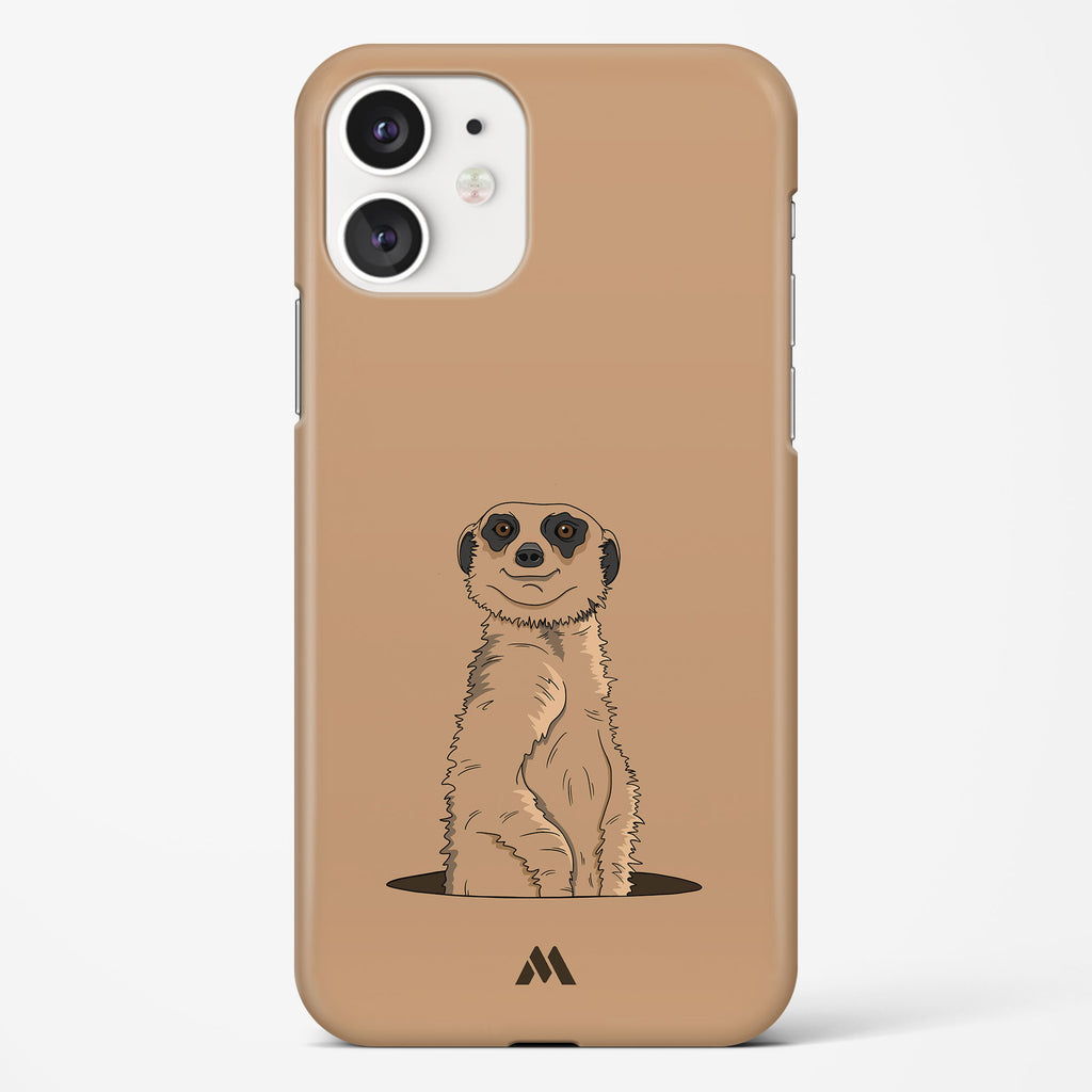 Honey Badger Dont Care Hard Case Phone Cover