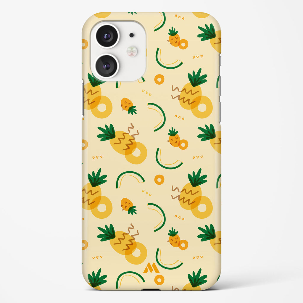 Pineapple Slices Hard Case Phone Cover