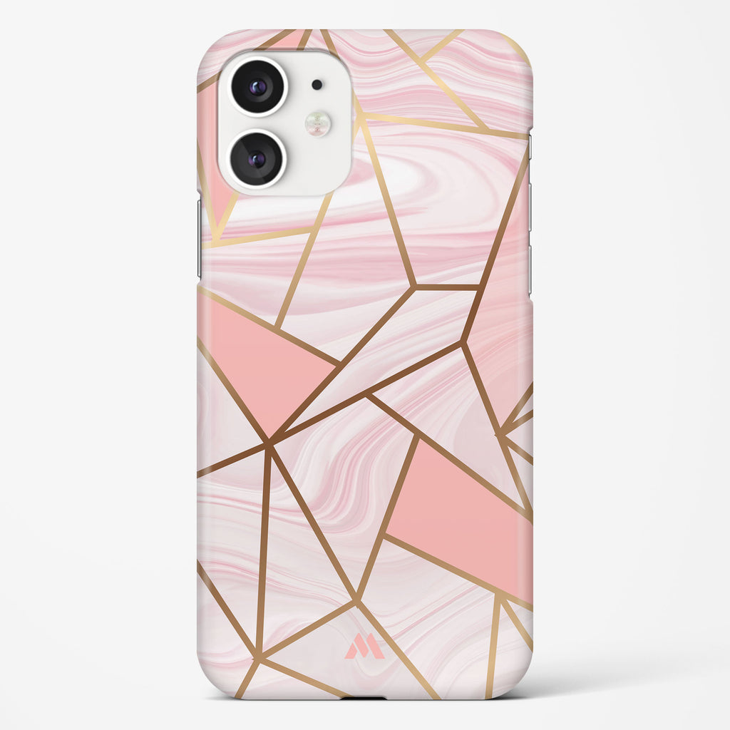 Liquid Marble in Pink Hard Case Phone Cover