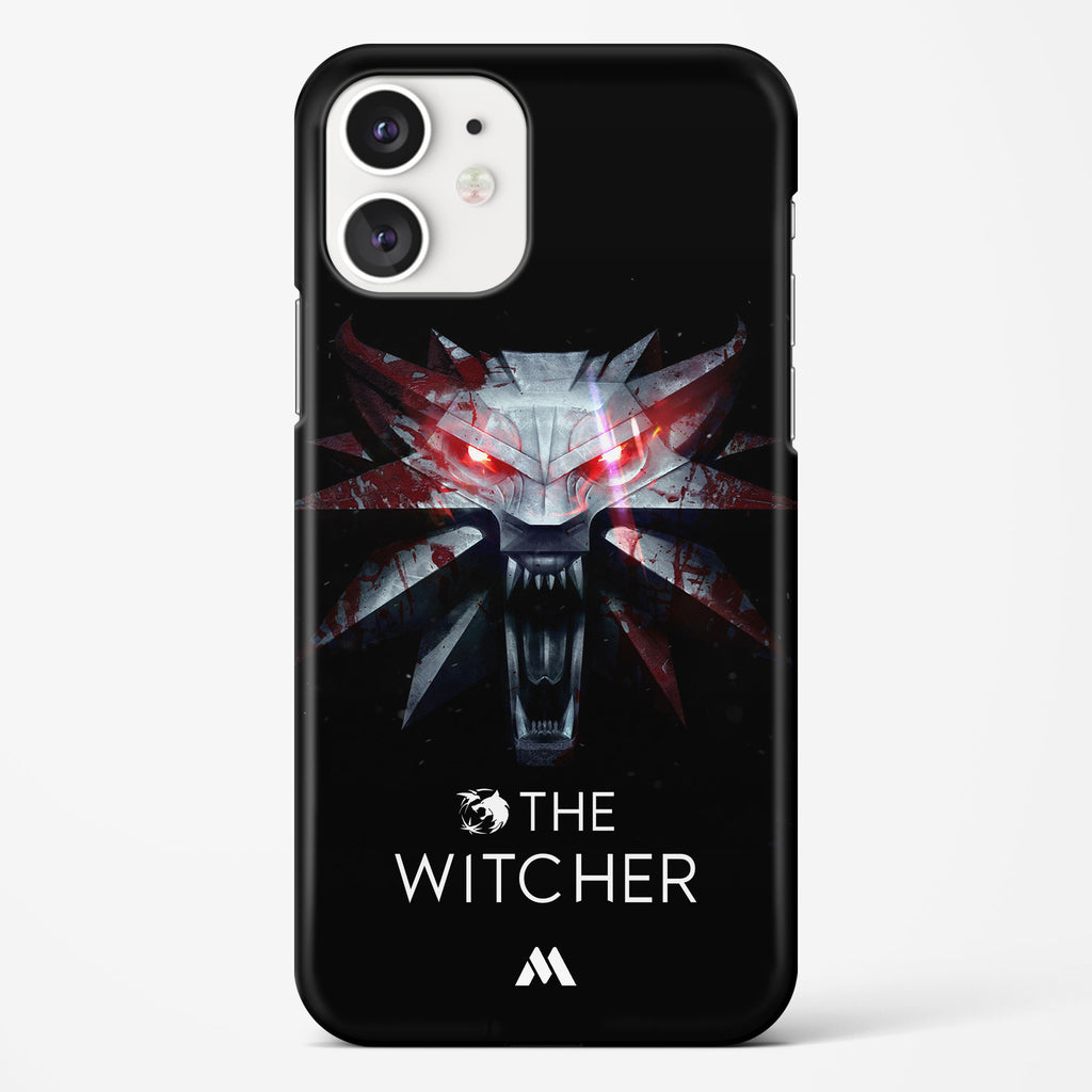 Witcher   The White Wolf Hard Case Phone Cover