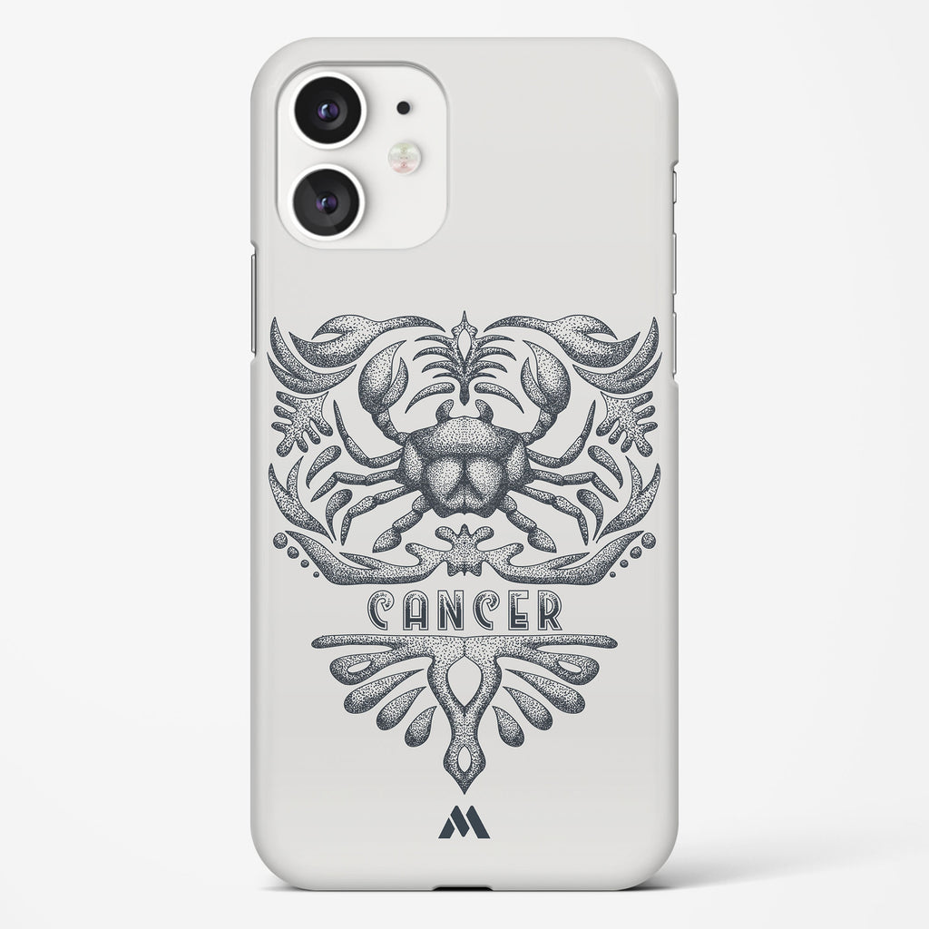Cancer   Zodiac Star Sign Hard Case Phone Cover
