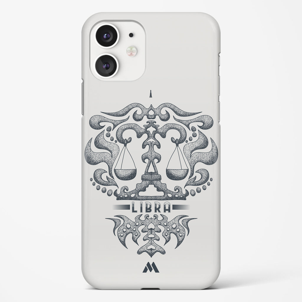 Libra   Zodiac Star Sign Hard Case Phone Cover