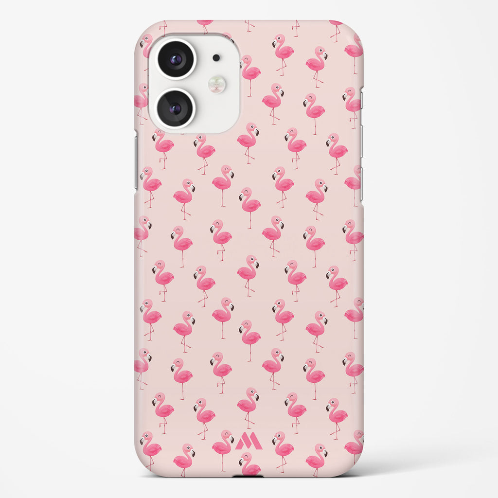 Pink Flamingos Hard Case Phone Cover