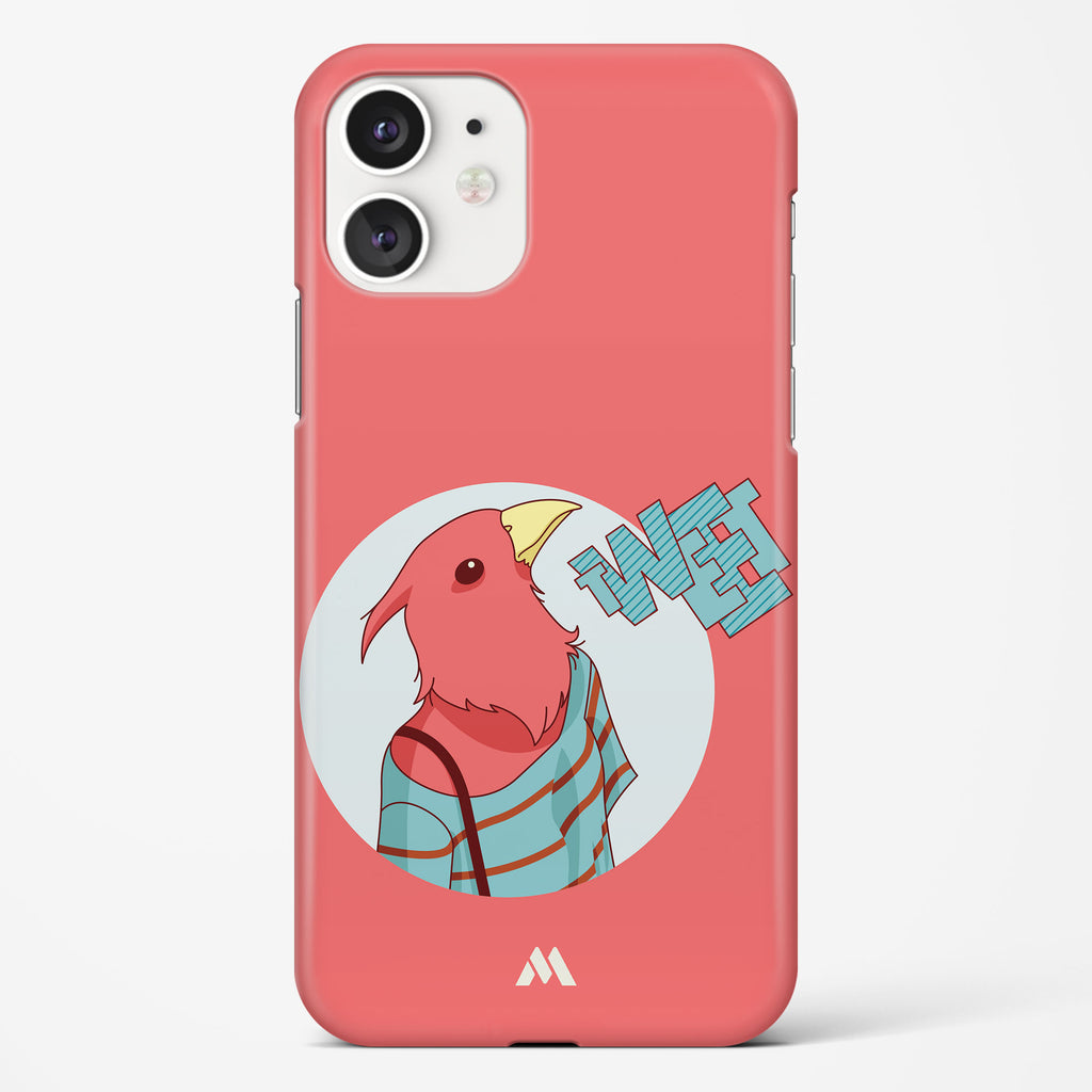 Twitterati Bird Hard Case Phone Cover