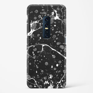 Black Basalt Marble Hard Case Phone Cover