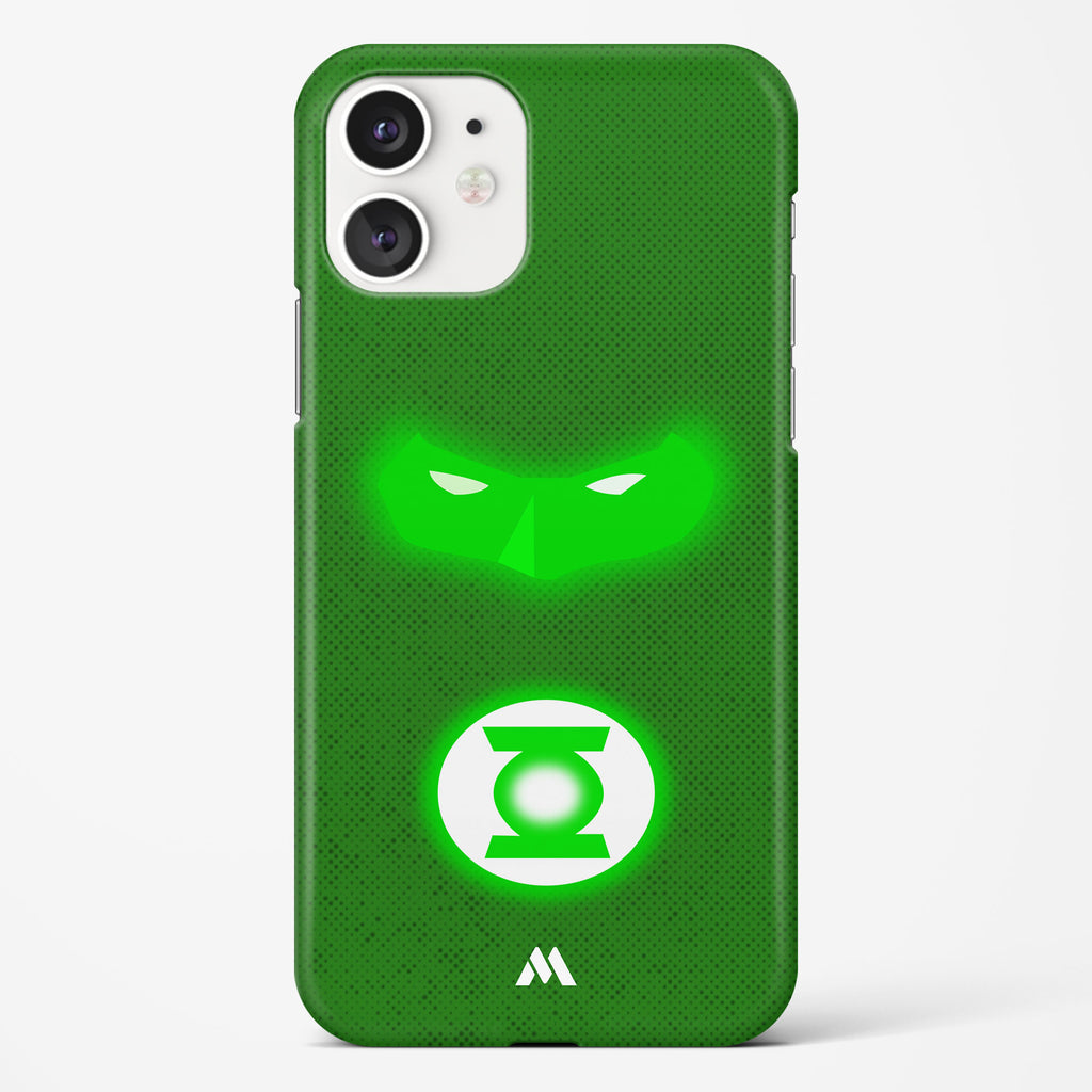 Green Lantern Silhouette Hard Case Phone Cover