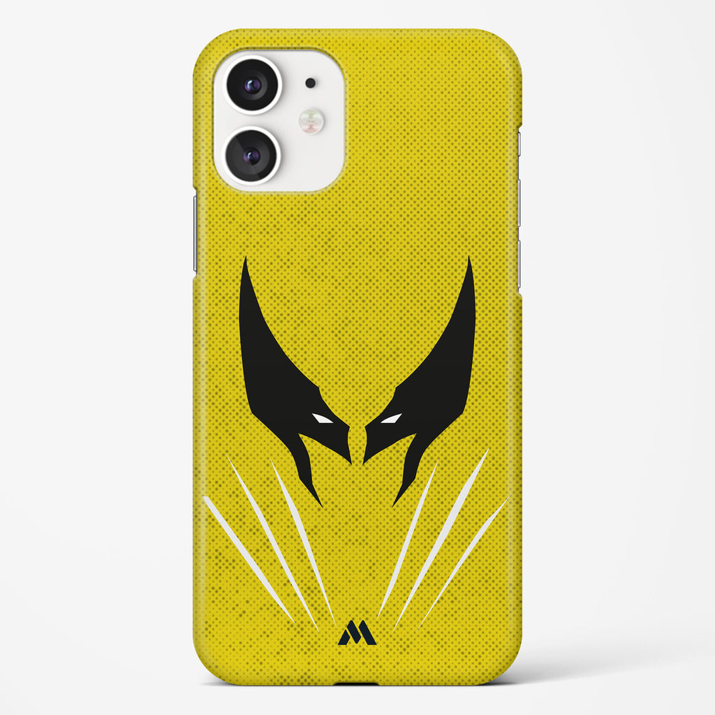 Wolverine Silhouette Hard Case Phone Cover