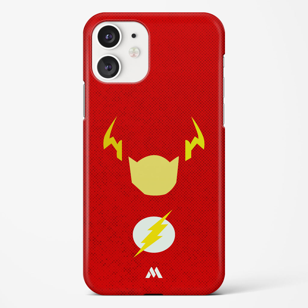 The Flash Silhouette Hard Case Phone Cover