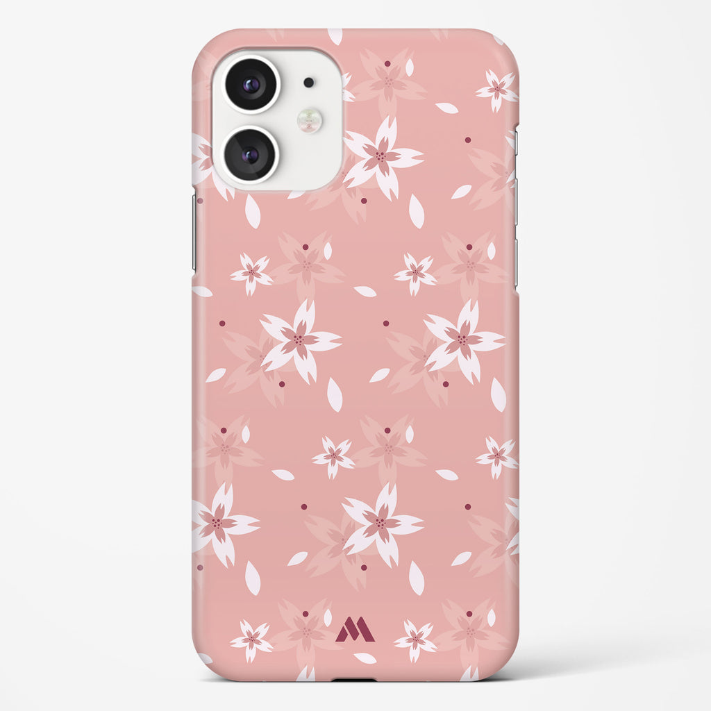 Snowdrop Orchids Hard Case Phone Cover