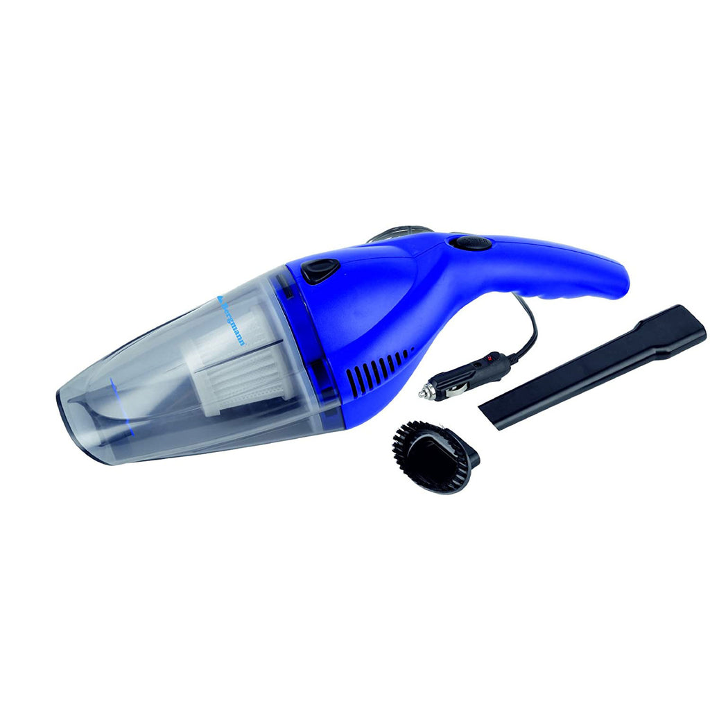 Bergmann Tornado Car Vacuum Cleaner (Blue)