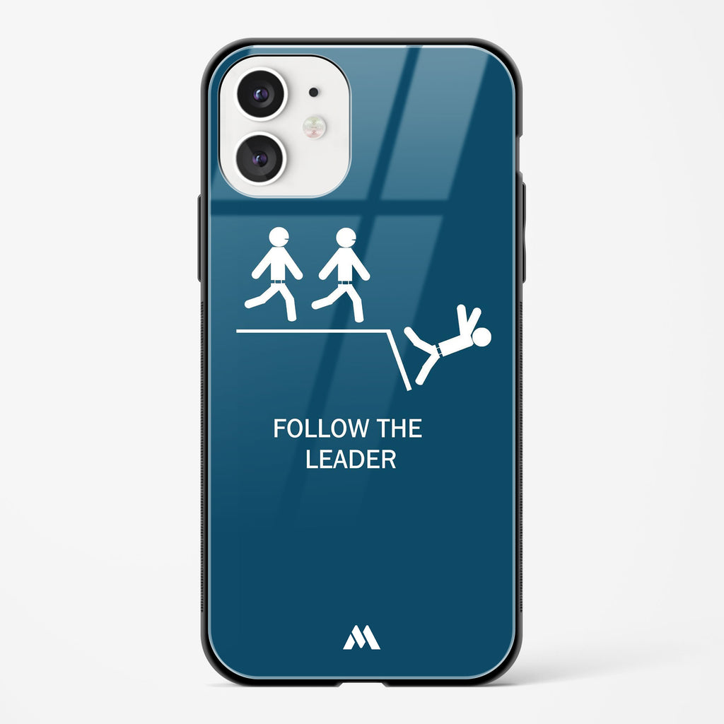 Follow The Leader Glass Case Phone Cover