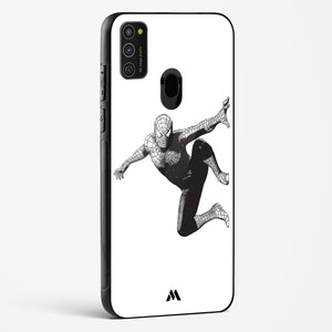 Wireframed Spiderman Glass Case Phone Cover