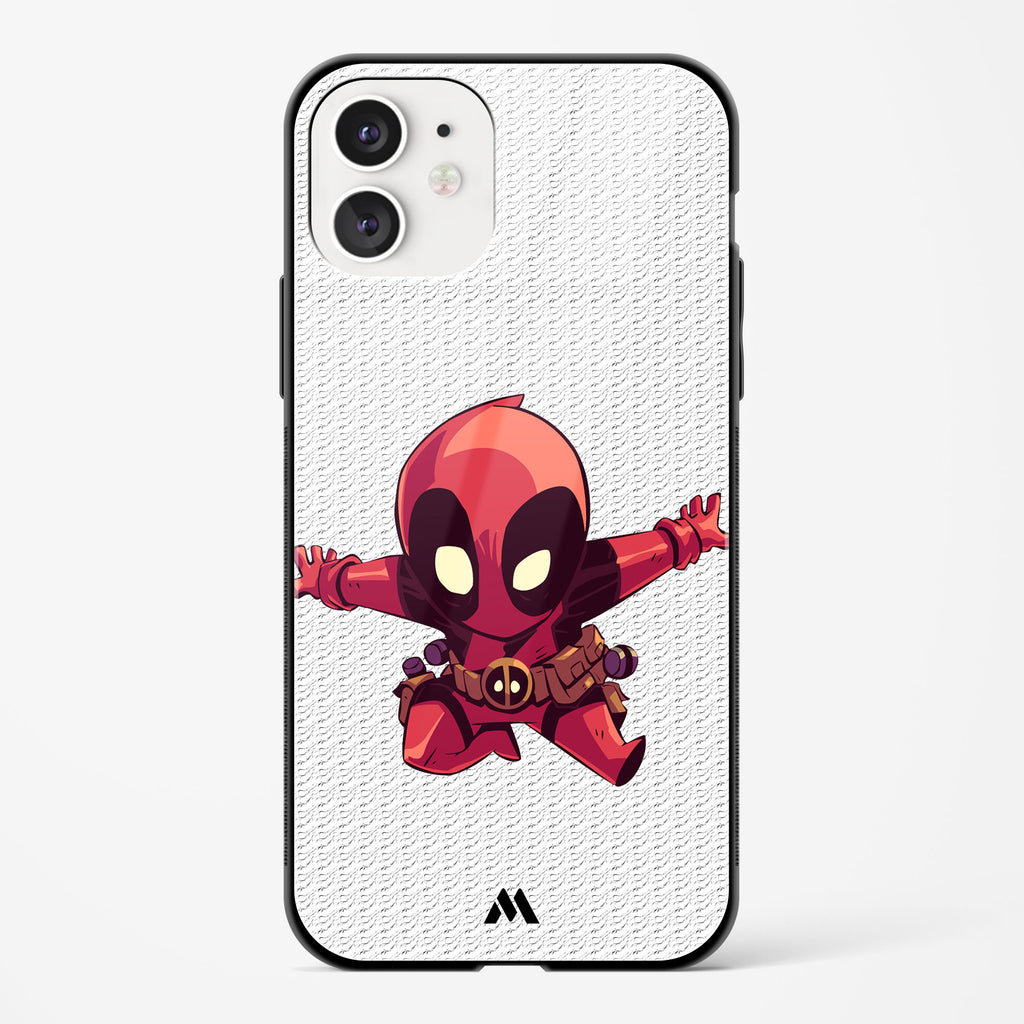 Chibi Deadpool Glass Case Phone Cover