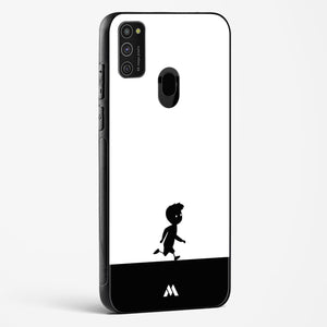 Hurrying Home Glass Case Phone Cover