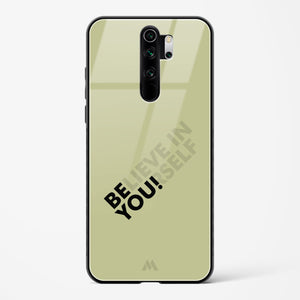 Be Yourself Glass Case Phone Cover