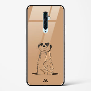 Honey Badger Dont Care Glass Case Phone Cover