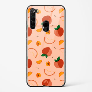 Peach Slices Glass Case Phone Cover