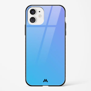 Teal Gradient Glass Case Phone Cover