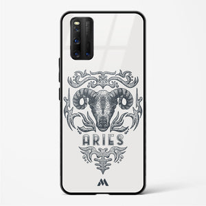 Aries   Zodiac Star Sign Glass Case Phone Cover