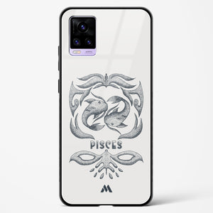 Pisces   Zodiac Star Sign Glass Case Phone Cover