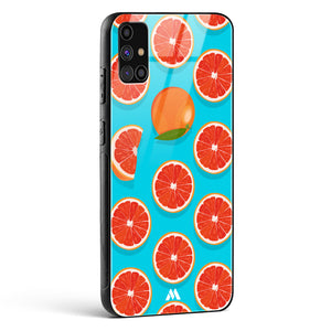Orange Slices Glass Case Phone Cover
