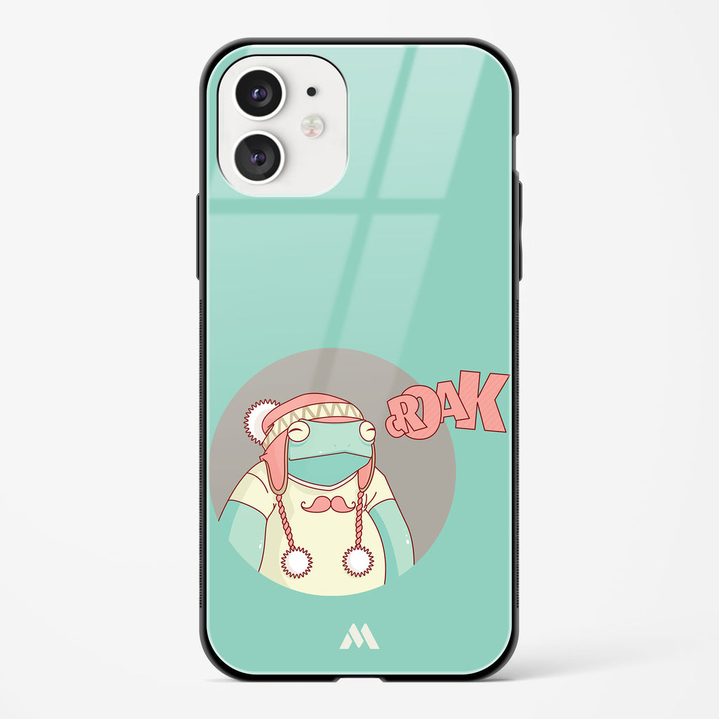 Croaky Frog Glass Case Phone Cover