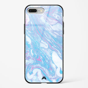 Peppermint Swirl Marble Glass Case Phone Cover