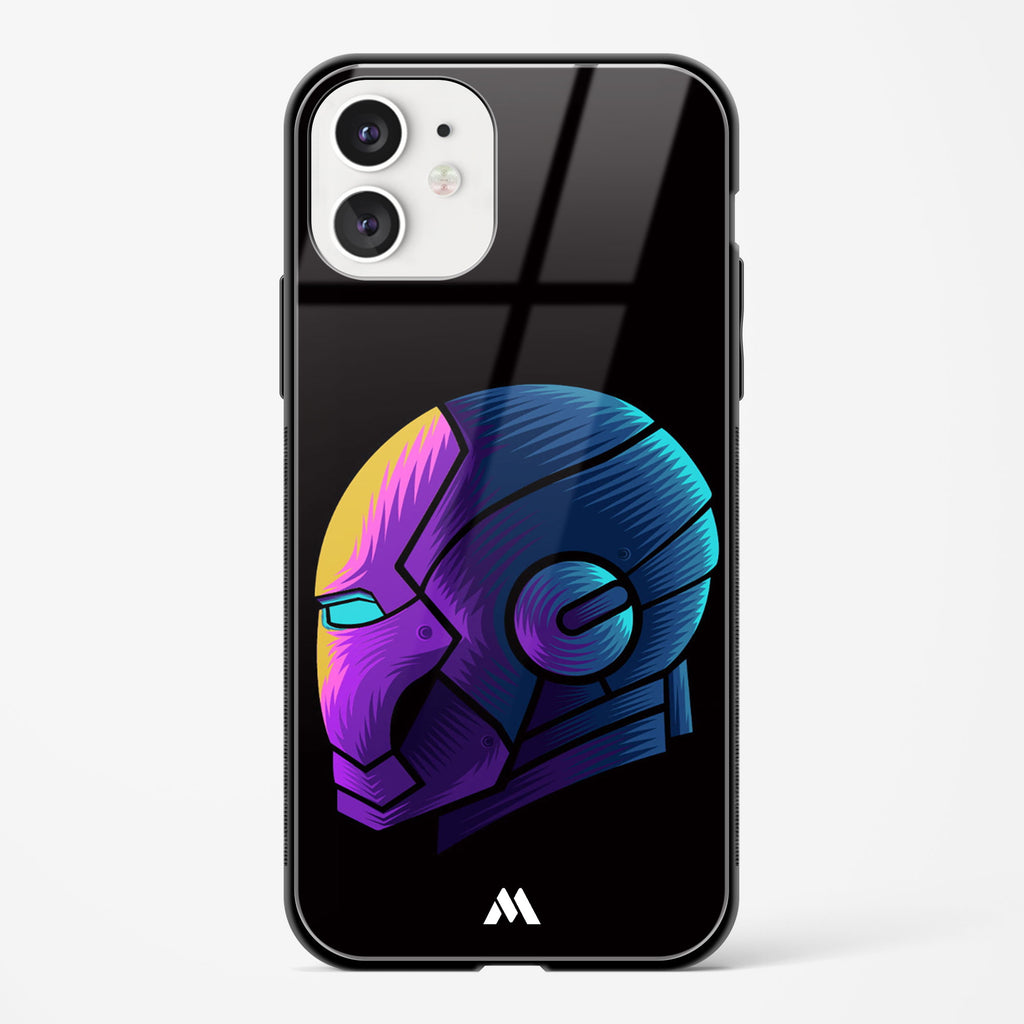 Ironman Fluroflare Glass Case Phone Cover