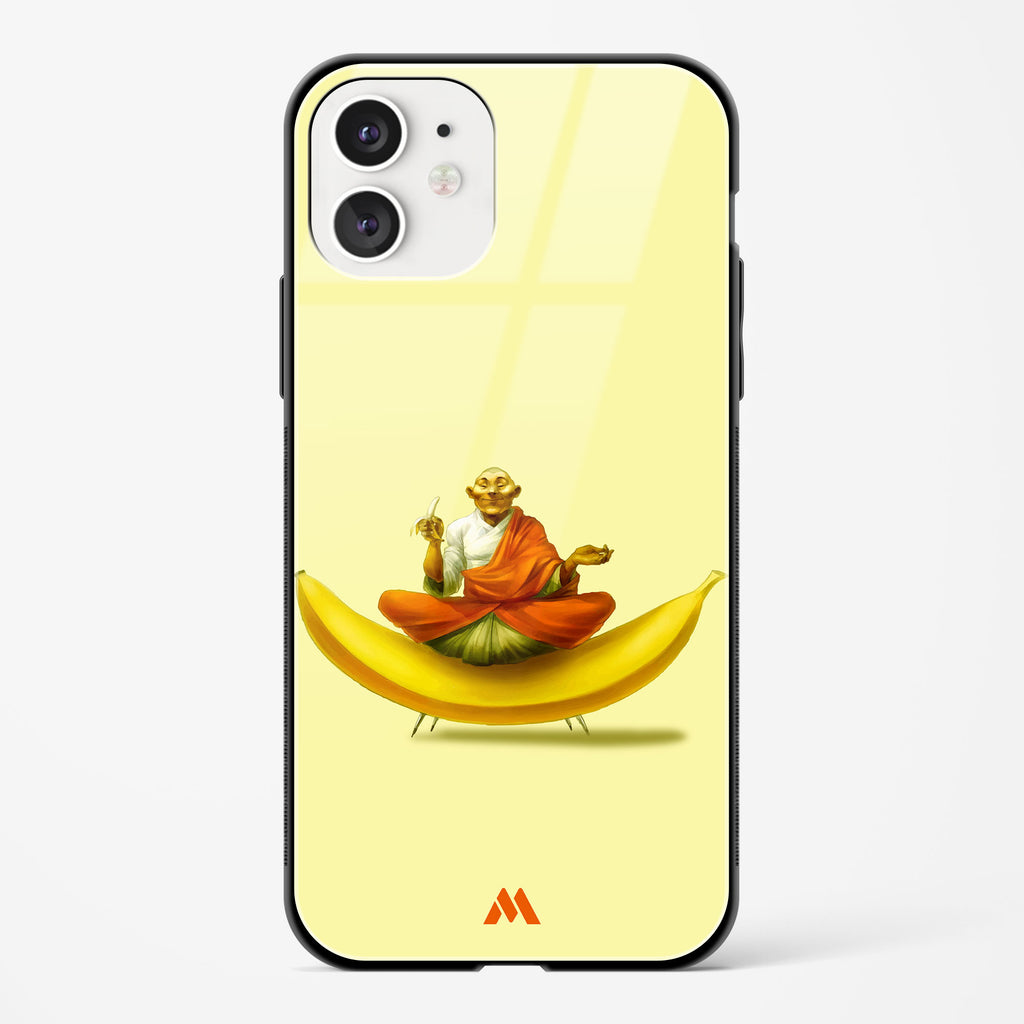 Guru Banana Glass Case Phone Cover