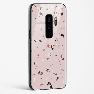Terrazzo Mosaics Brown Glass Case Phone Cover