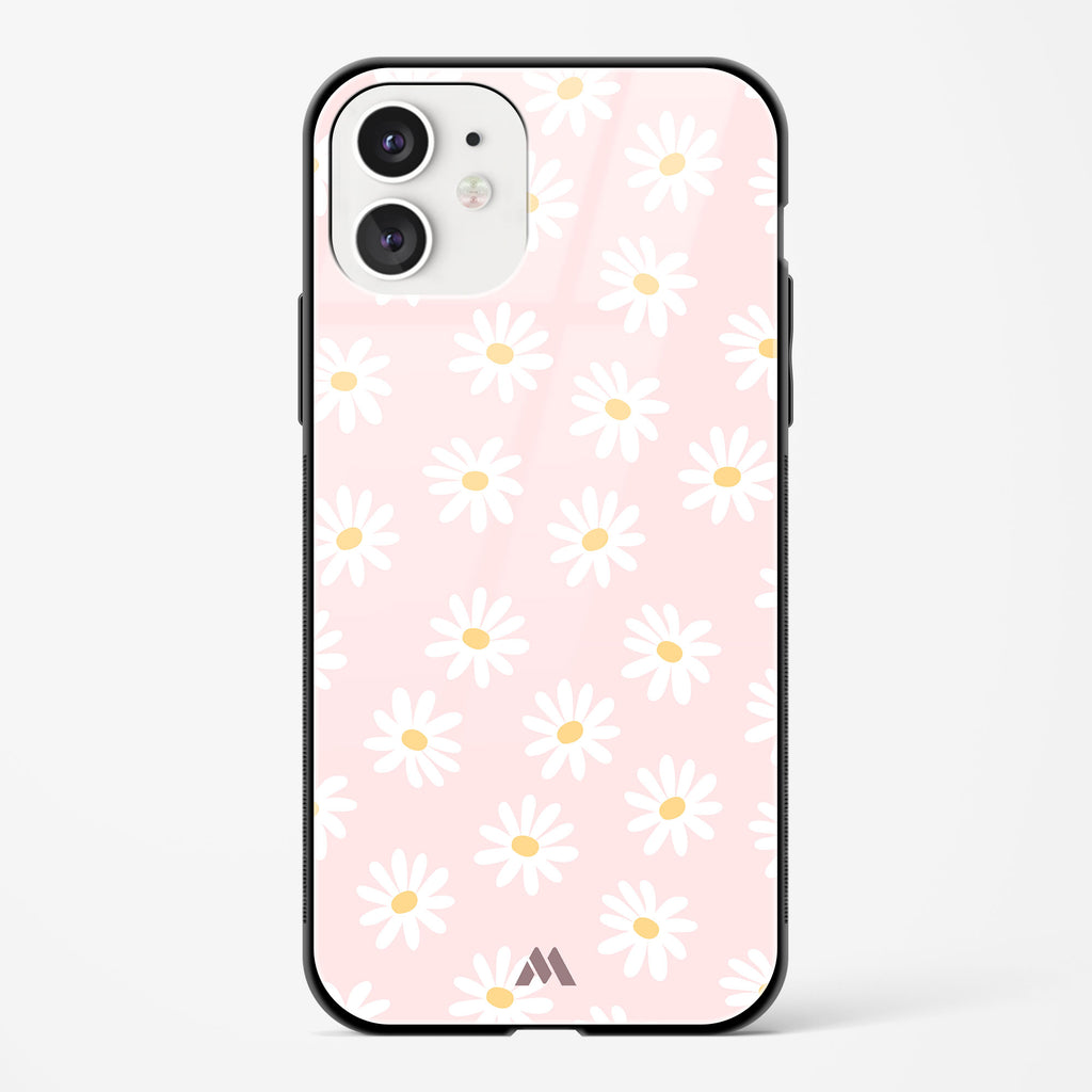 Magnolias on Lavender Glass Case Phone Cover