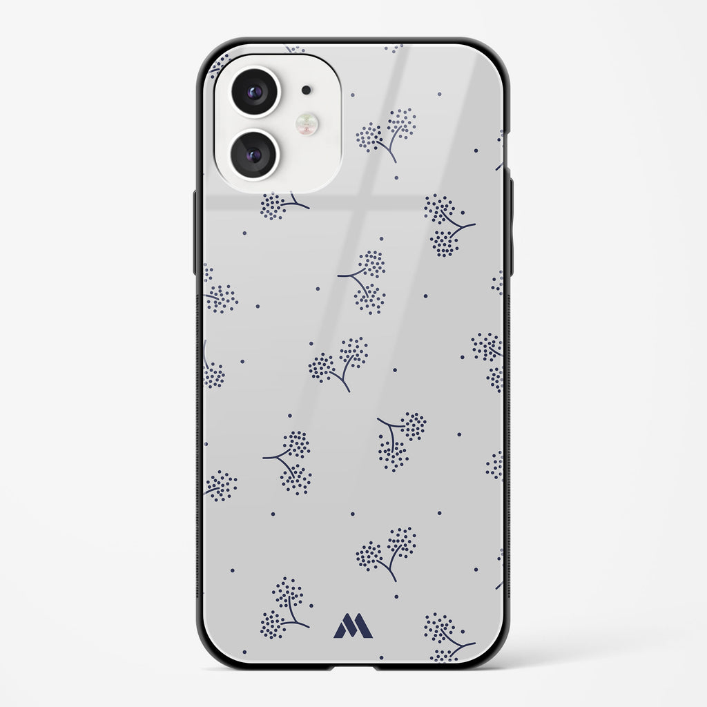 Autumn Blossoms Glass Case Phone Cover