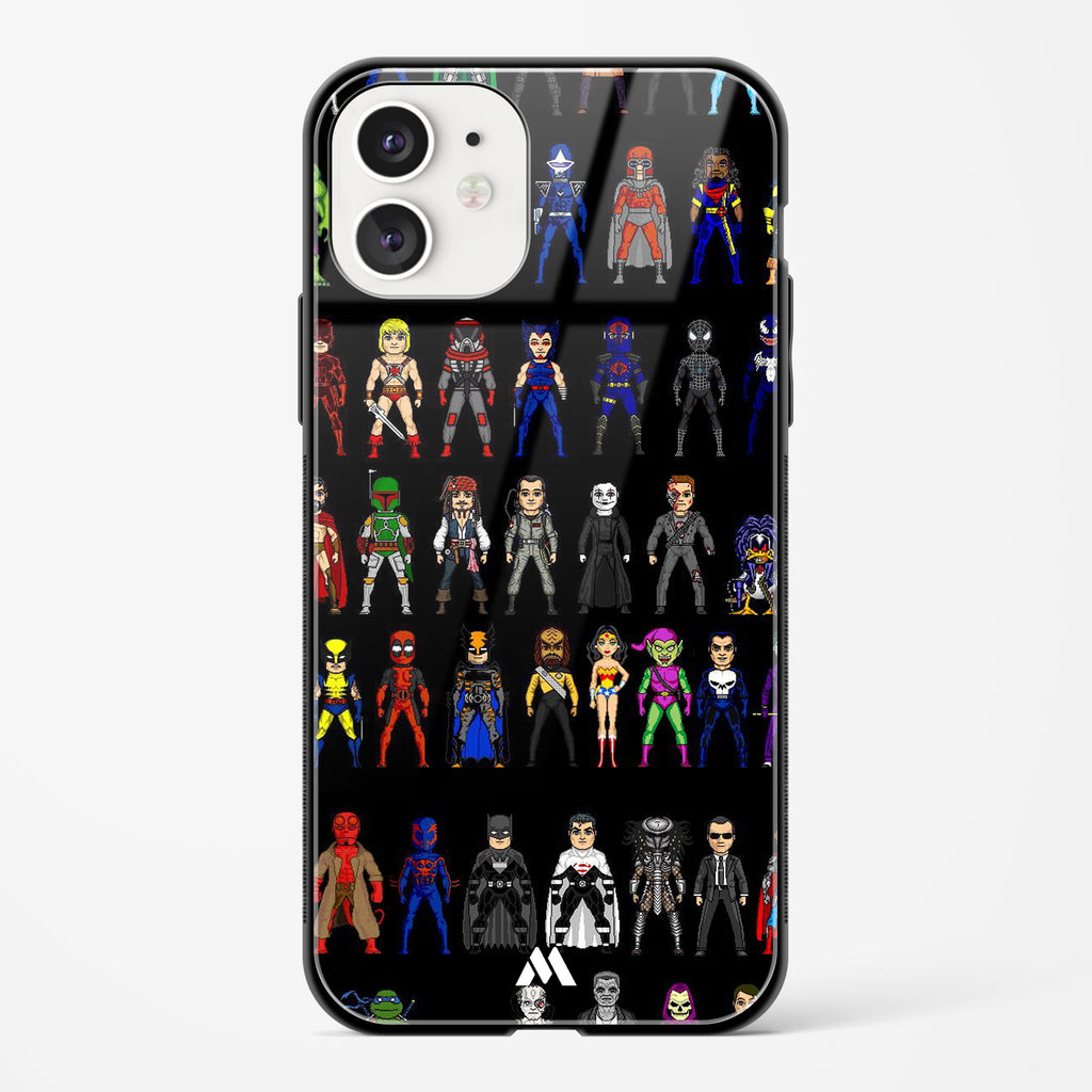 Every Comic Universe Glass Case Phone Cover