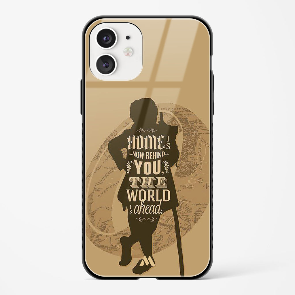 The Hobbit Home is now behind You Glass Case Phone Cover