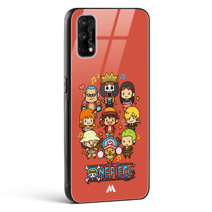 One Piece Chibi Strawhats Glass Case Phone Cover