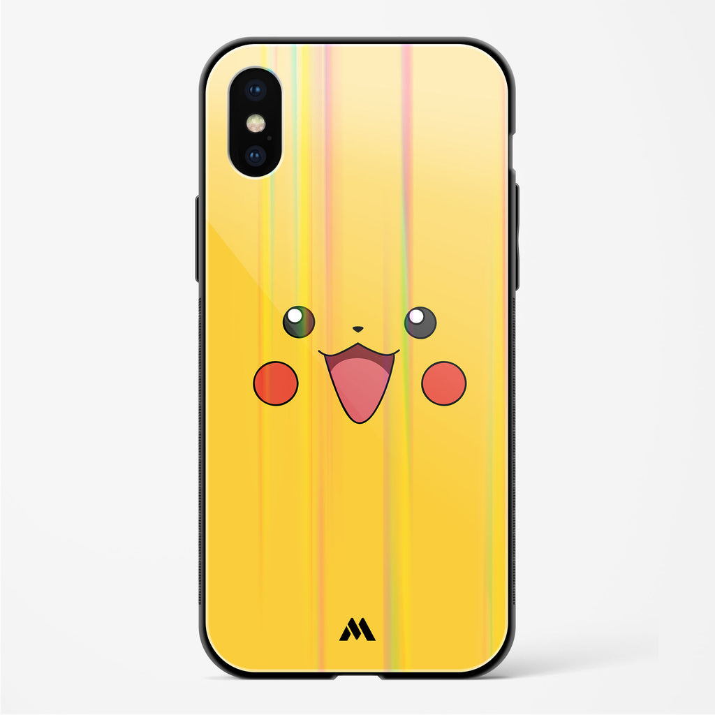 Pika Pika Holographic Glass Case Phone Cover