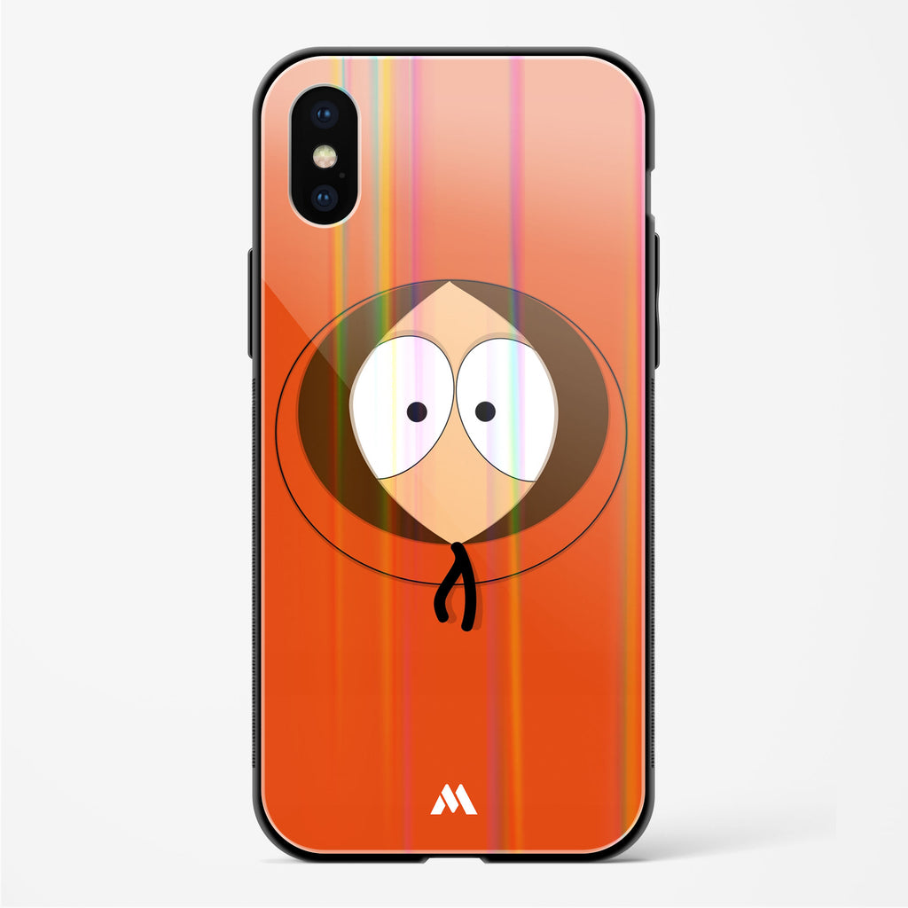 Peek a boo Kenny Holographic Glass Case Phone Cover