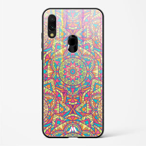 Chaos in Geometry Holographic Glass Case Phone Cover