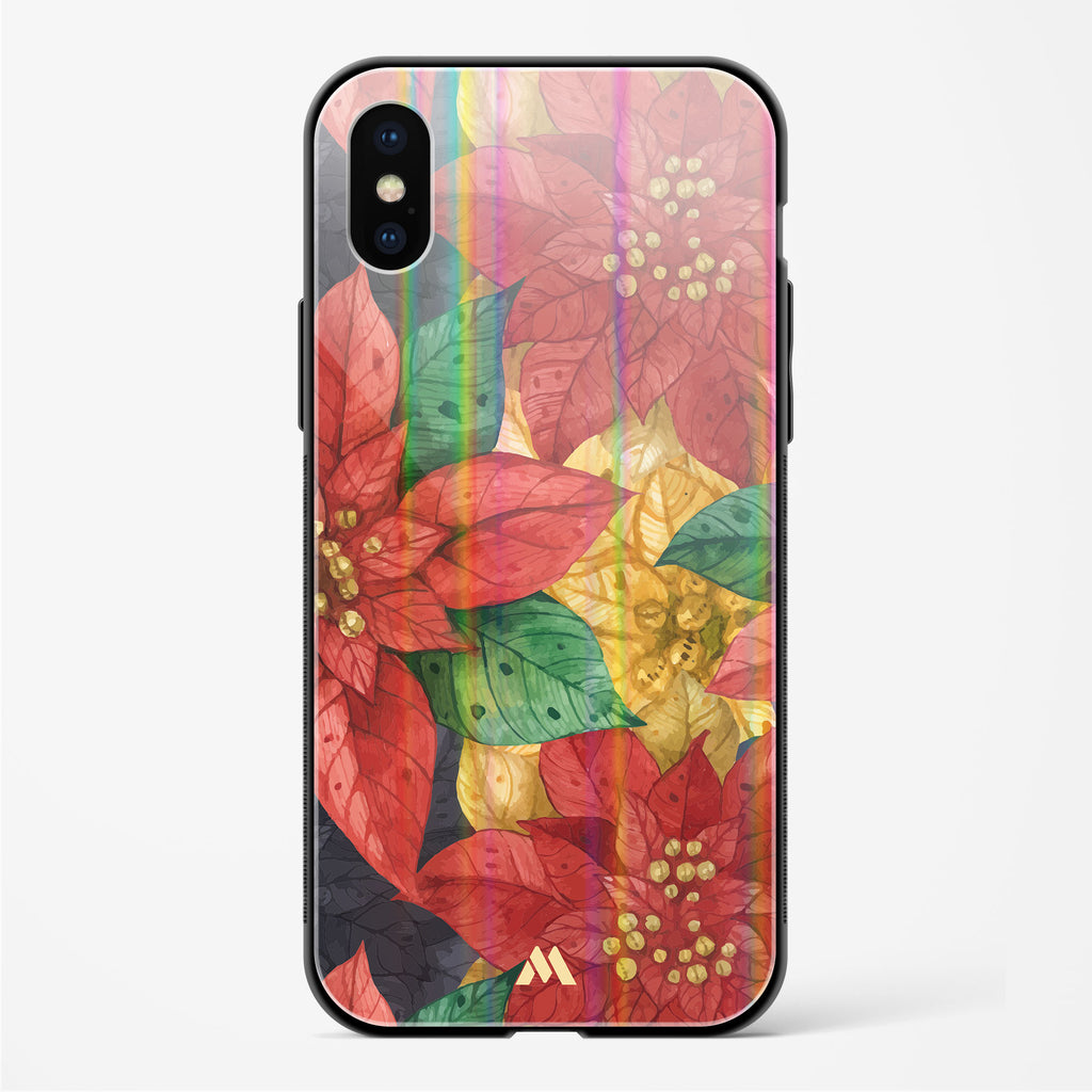 Underbrush on the Jungle Floor Holographic Glass Case Phone Cover