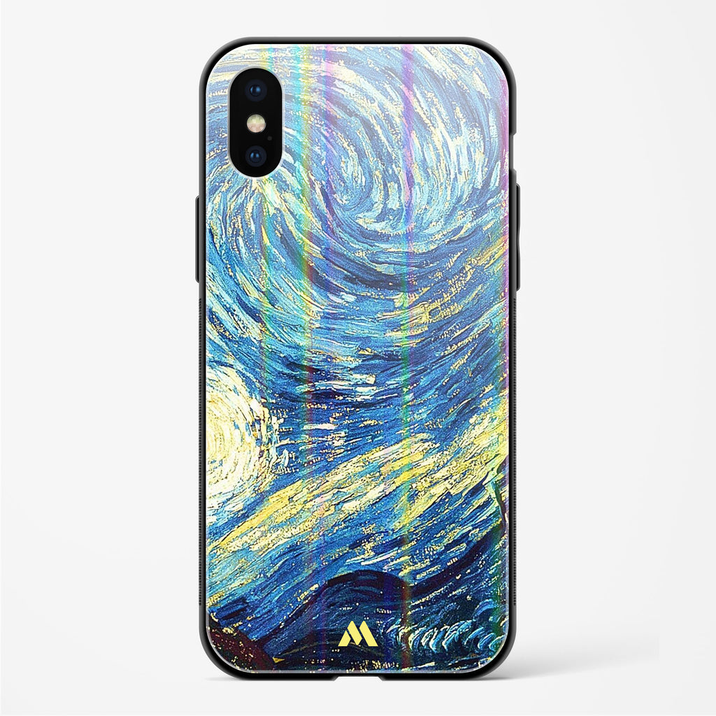 Surreal Iconography Holographic Glass Case Phone Cover
