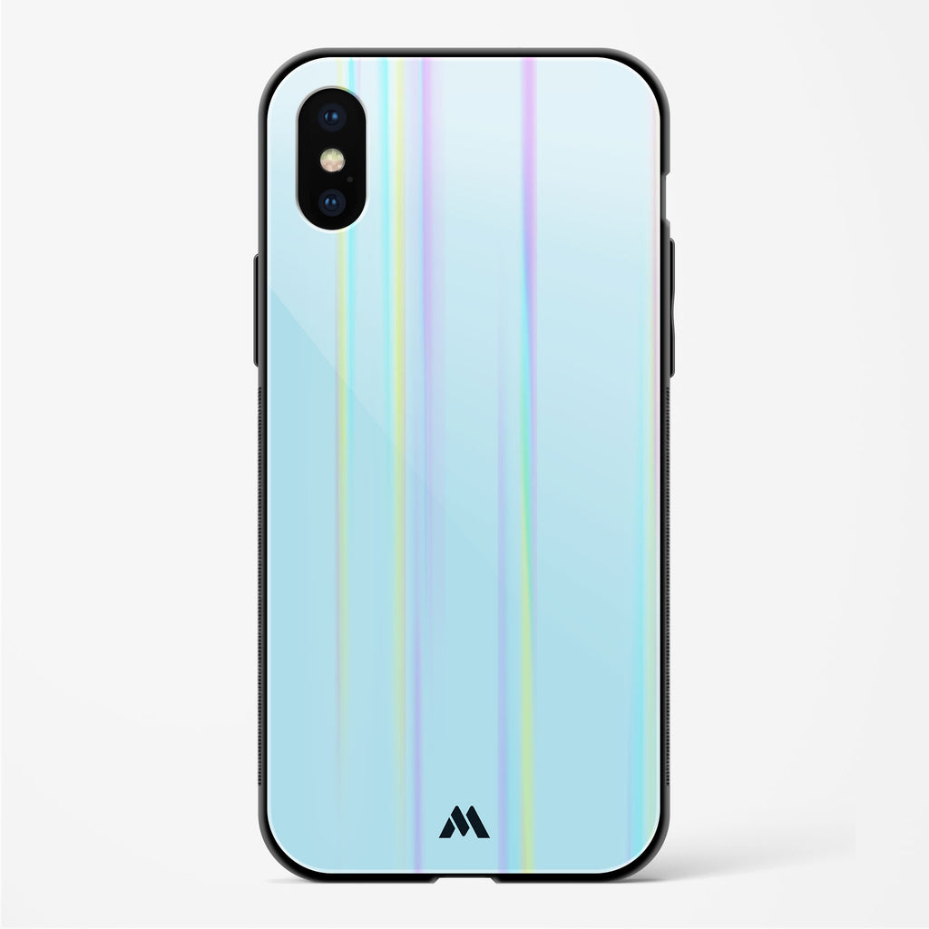 Beryl Waters Holographic Glass Case Phone Cover