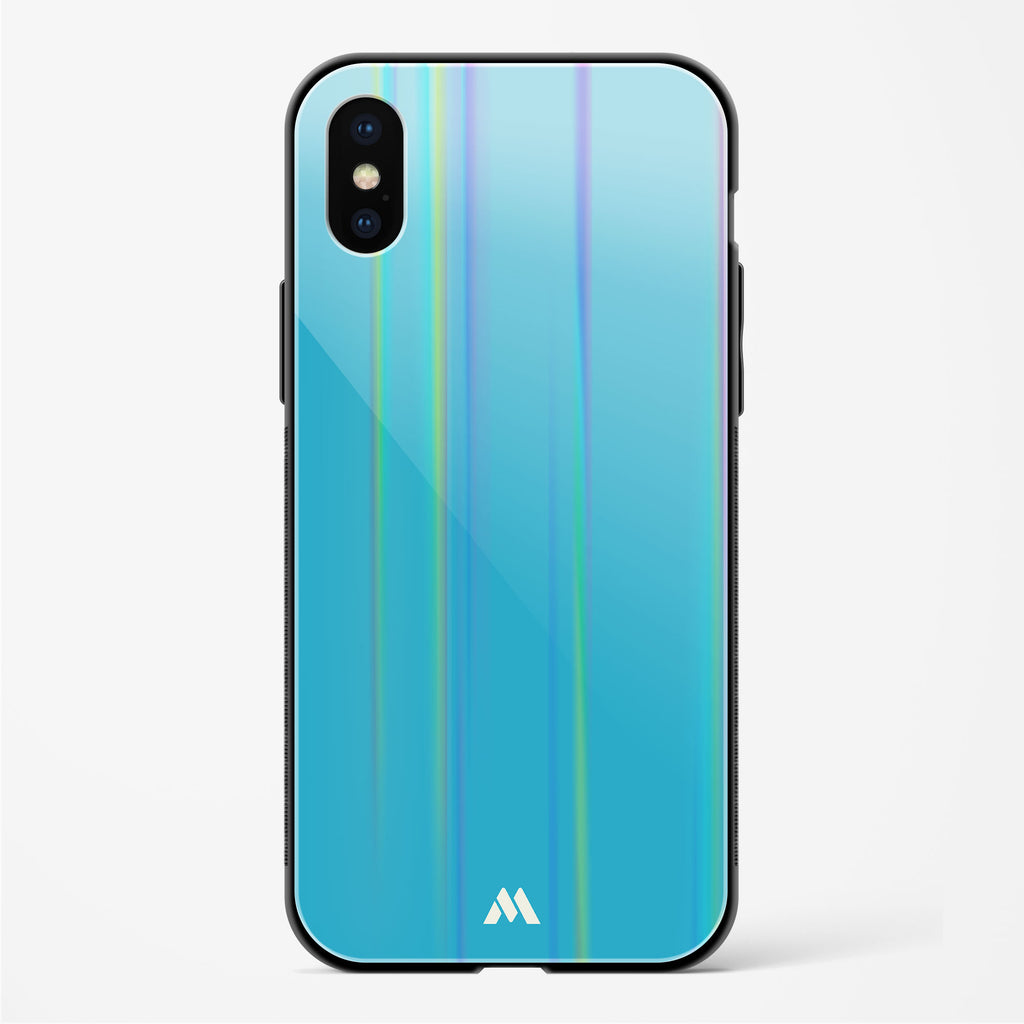 Cerulean Surprise Holographic Glass Case Phone Cover