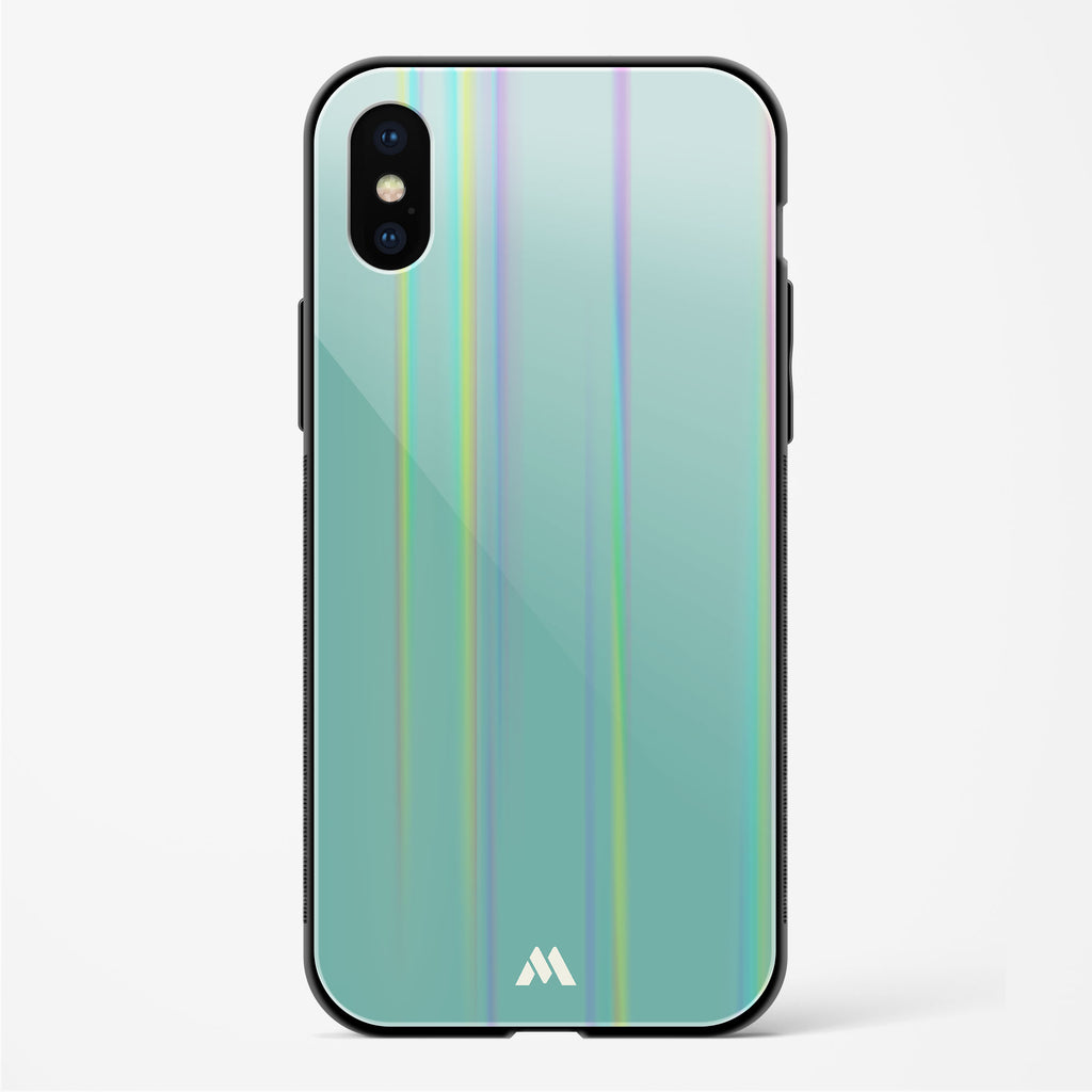 Burmese Pines Holographic Glass Case Phone Cover