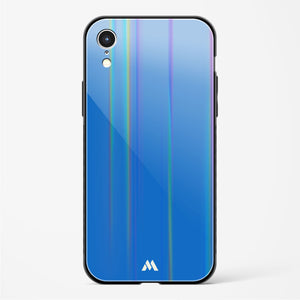 Cobalt Spruces Holographic Glass Case Phone Cover