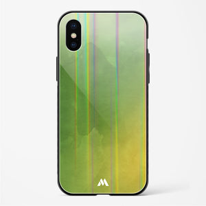 Autumn Embrace in Watercolours Holographic Glass Case Phone Cover
