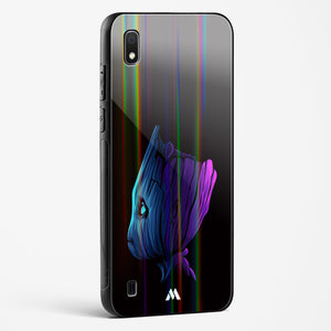 Baby Groot Fluroflare Holographic Glass Case Phone Cover