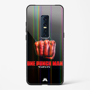 One Punch Man Holographic Glass Case Phone Cover